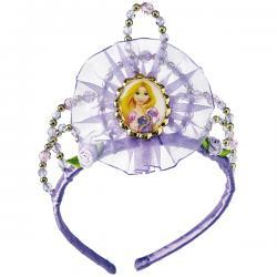 Tiara de Rapunzel glitter para niña - Imagen 1