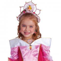 Tiara de La Bella Durmiente para niña - Imagen 1