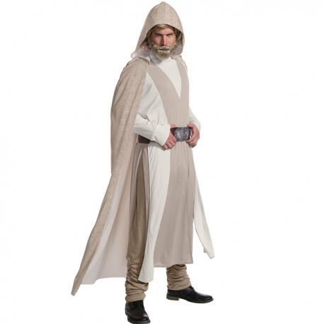 Disfraz de Luke Skywalker Star Wars The Last Jedi deluxe para hombre - Imagen 1