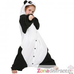 Disfraz de panda karateca Bcozy Onesie Infantil - Imagen 1