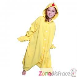 Disfraz de pollito de granja Bcozy Onesie infantil - Imagen 1