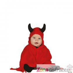 Disfraz de demonio adorable para bebé - Imagen 1