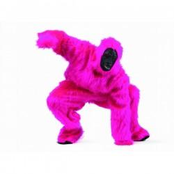 Disfraz de gorila gorilón rosa - Imagen 1