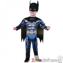 Disfraz de Batman DC Comics deluxe para bebé - Imagen 1