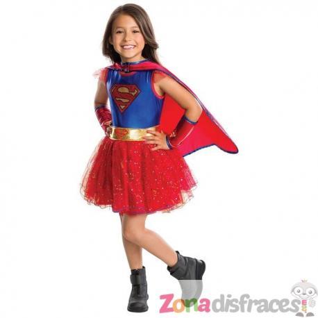 Disfraz de Supergirl con tutú para niña. Comprar Online 3bfd1836536