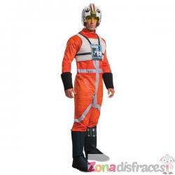 Disfraz de Piloto X-Wing para hombre - Imagen 1