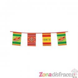 Banderín para fiesta mejicana - Imagen 1