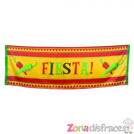 Bandera decorativa para fiesta mejicana - Imagen 1
