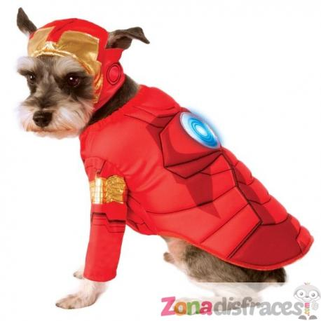 Disfraz de Iron Man para perro - Imagen 1