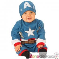 Disfraz de Capitán América para bebé - Imagen 1