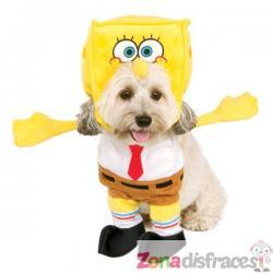Disfraz de Bob Esponja para perro - Imagen 1