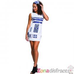 Vestido de R2D2 para mujer - Star Wars - Imagen 1