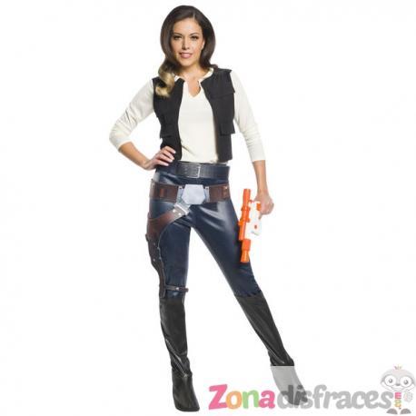 Comprar Disfraz de Han Solo para mujer - Star Wars Online a3110ca585a