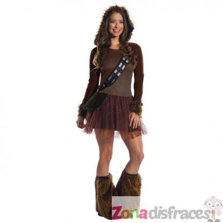 Comprar Disfraz de Chewbacca deluxe para mujer - Star Wars Online a974fbcc559