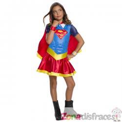 Disfraz de Supergirl para niña - DC Superhero girls - Imagen 1