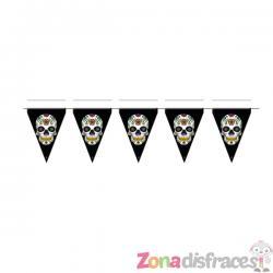 Banderín de Catrina Día de los muertos - Imagen 1