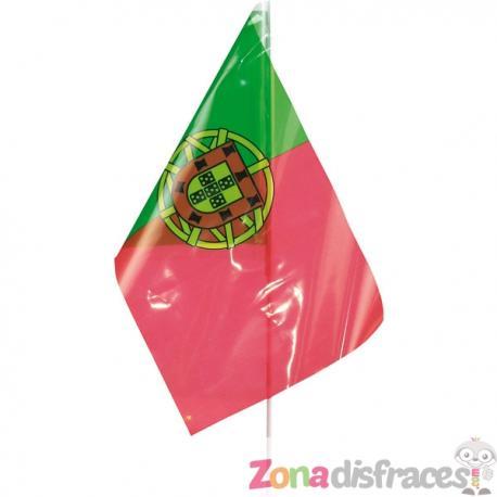 Bandera de Portugal de plástico - Imagen 1