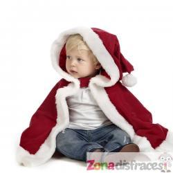 Capa de Papá Noel para bebé - Imagen 1