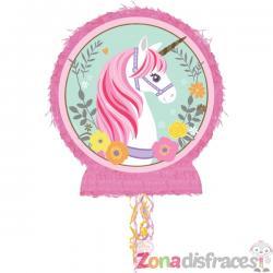 Piñata de princesa unicornio - Imagen 1