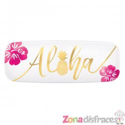 Bandeja alargada aloha - Imagen 1