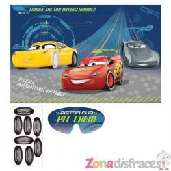 Juego para fiesta infantil de Cars - Imagen 1