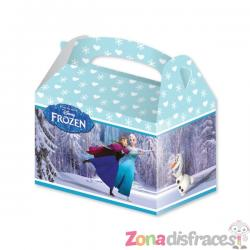 Set de 4 cajas de cartón de Frozen - Imagen 1