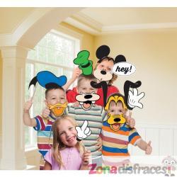 Set de 12 complementos para photocall de Mickey Mouse - Imagen 1