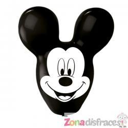 Set de 4 globos de látex con forma de Mickey Mouse - Imagen 1