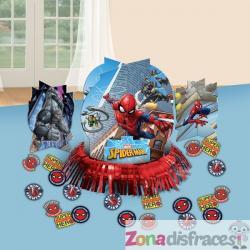 Set decoración para mesa de Spiderman - Imagen 1