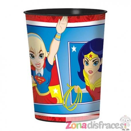 Vaso de plástico duro DC Super Hero Girls - Imagen 1