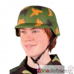Casco de militar infantil - Imagen 1