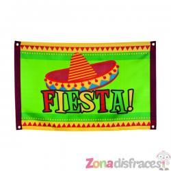 Bandera Fiesta mexicana - Imagen 1