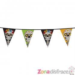 Banderín de Catrina Día de los muertos mexicano - Imagen 1