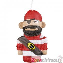Piñata de pirata bravucón - Imagen 1