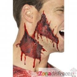 Tatuajes de heridas en la piel - Imagen 1