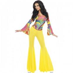 Disfraz de hippie sexy para mujer - Imagen 1