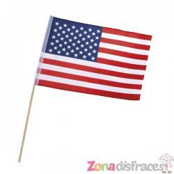 Bandera de Estados Unidos con palillo - Imagen 1