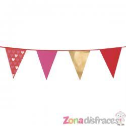 Banderines de corazones - Imagen 1