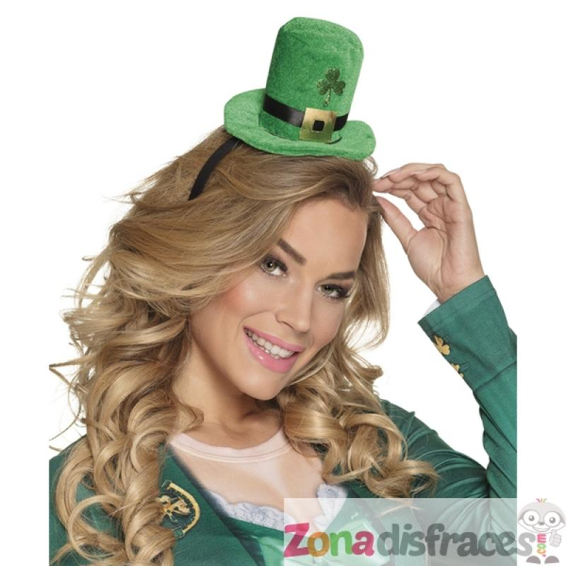 bc2be0661974c ... Mini sombrero leprechaun San Patricio para adulto - Imagen 2