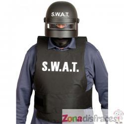 Casco de SWAT antimotines para adulto - Imagen 1