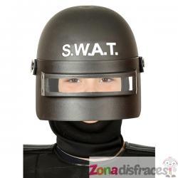 Casco de SWAT antimotines infantil - Imagen 1