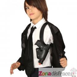 Sobaquera con pistola infantil - Imagen 1