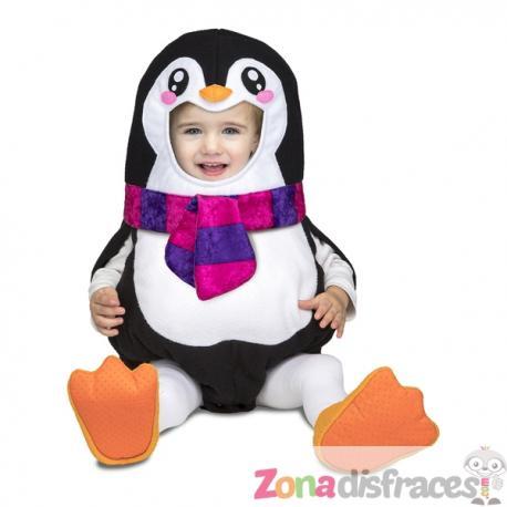 Disfraz de pingüino deluxe para bebé - Imagen 1