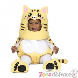 Disfraz de gatito deluxe para bebé - Imagen 1