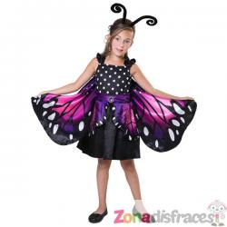 Disfraz de mariposa pequeña para niña - Imagen 1