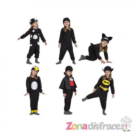 Disfraz de Quick n Fun negro infantil - Imagen 1