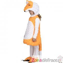 Disfraz de zorro naranja infantil - Imagen 1