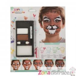 Maquillaje de león infantil - Imagen 1