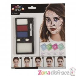 Maquillaje pop art para adulto - Imagen 1
