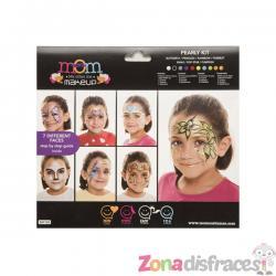 Set de maquillaje multiusos perlado infantil - Imagen 1